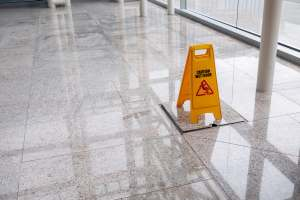 Slick tile floors don't have to be dangerous. KC Grip can treat them.